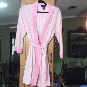 Charter Club cotton robe